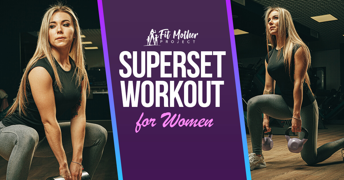 superset workout for women